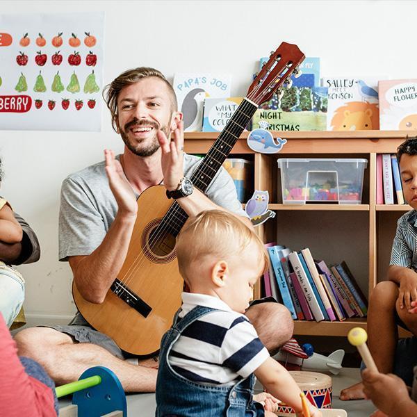 Zajęcia muzyczne wprzedszkolu