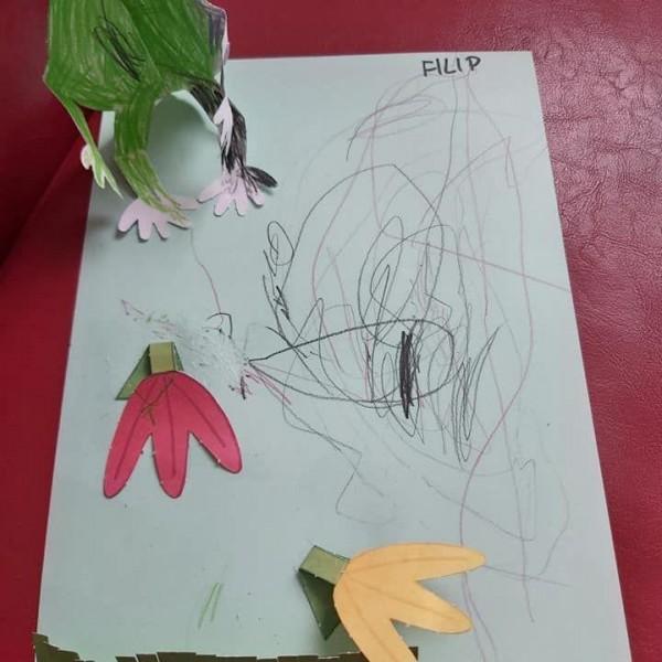laurka zrobiona przez dziecko 8