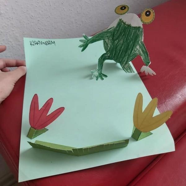 laurka zrobiona przez dziecko 3